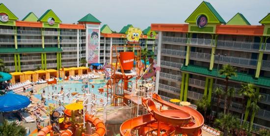 Nickelodeon Suites Resort (courtesy of NickHotel.com).