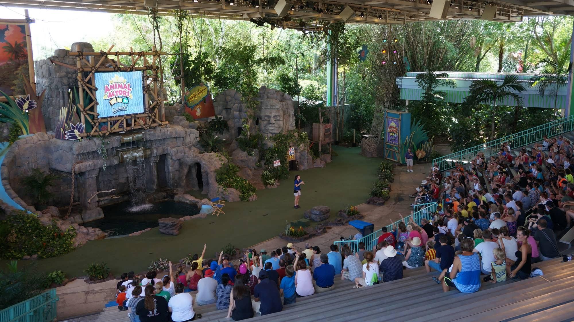 Animal Actors on Location at Universal Studios Florida.