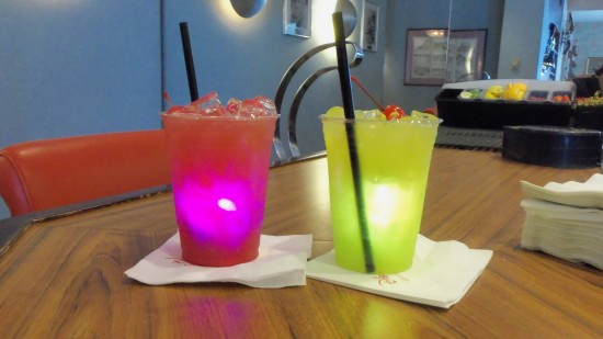 Glow cube drinks - fun, but ditch the cubes to save a few bucks.