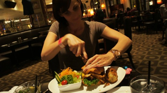 Hard Rock Hotel's The Kitchen: The Kitchen Burger.