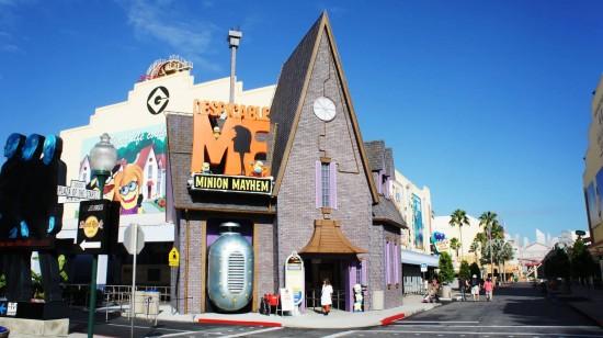 Despicable Me Minion Mayhem at Universal Studios Florida.