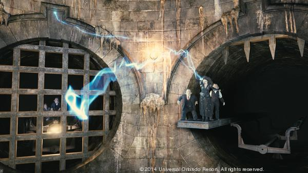 Harry Potter and the Escape from Gringotts – Diagon Alley