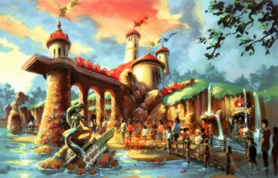 Fantasyland expansion at Magic Kingdom.