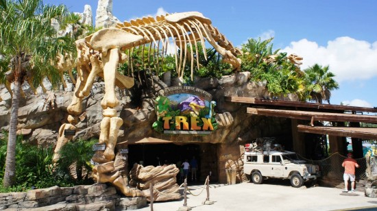 T-Rex Restaurant at Downtown Disney.