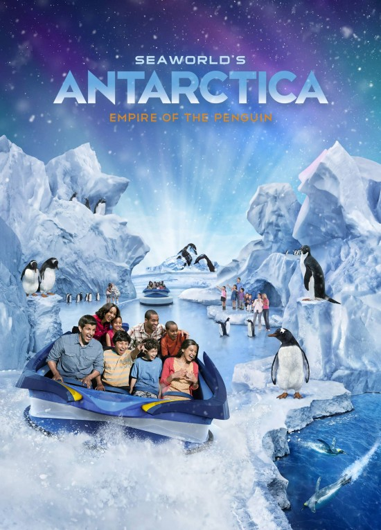 Antarctica: Empire of the Penguin -- opening at SeaWorld Orlando spring 2013.