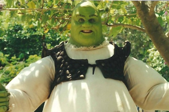 Shrek at Universal Studios Florida - 2001.