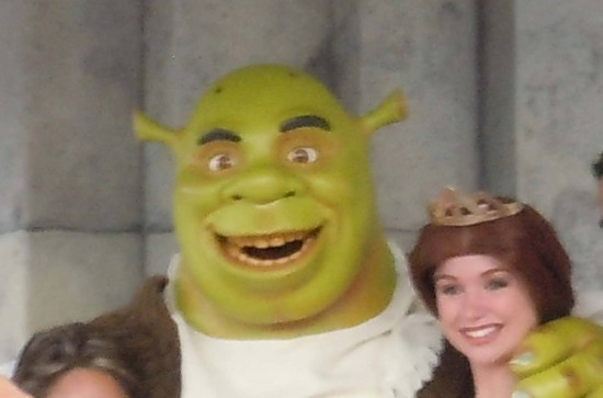 Shrek at Universal Studios Florida - 2012.