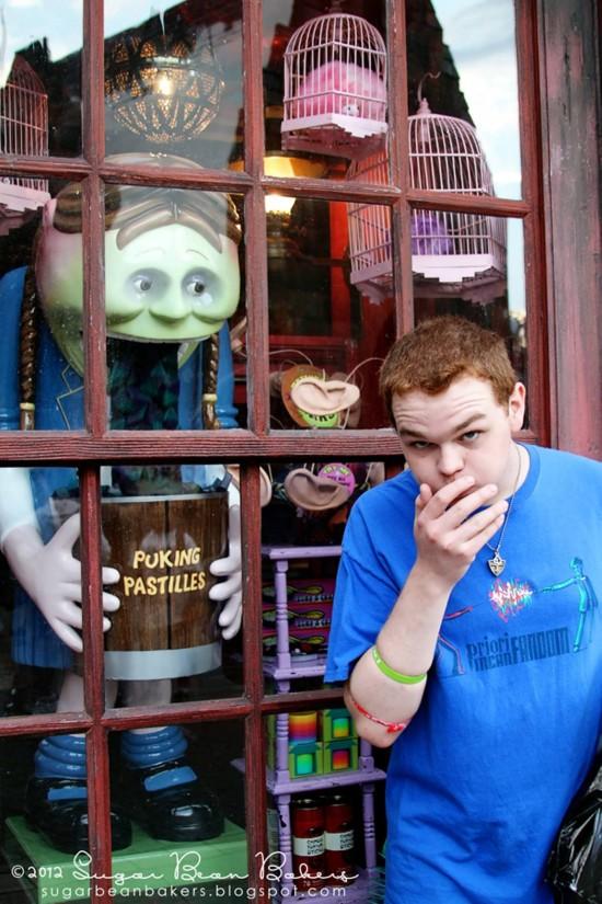 Zonkos Joke Shop inside the Wizarding World of Harry Potter.