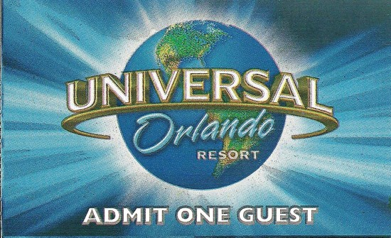 Admission ticket - 2012.