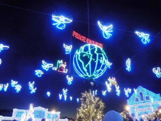 Osborne Family Spectacle of Dancing Lights 2012.