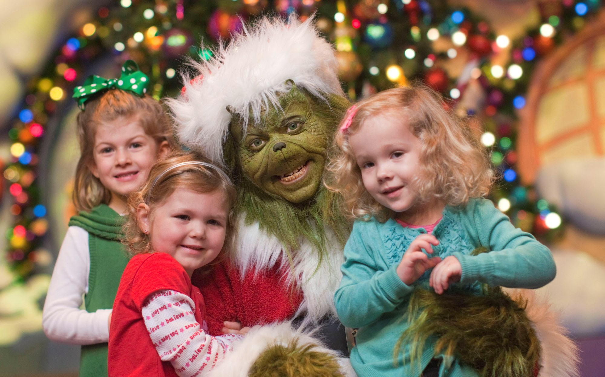 The Grinch at Universal's Islands of Adventure.