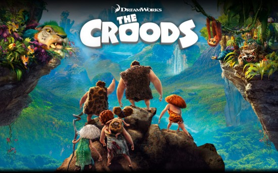 The Croods -- now playing.