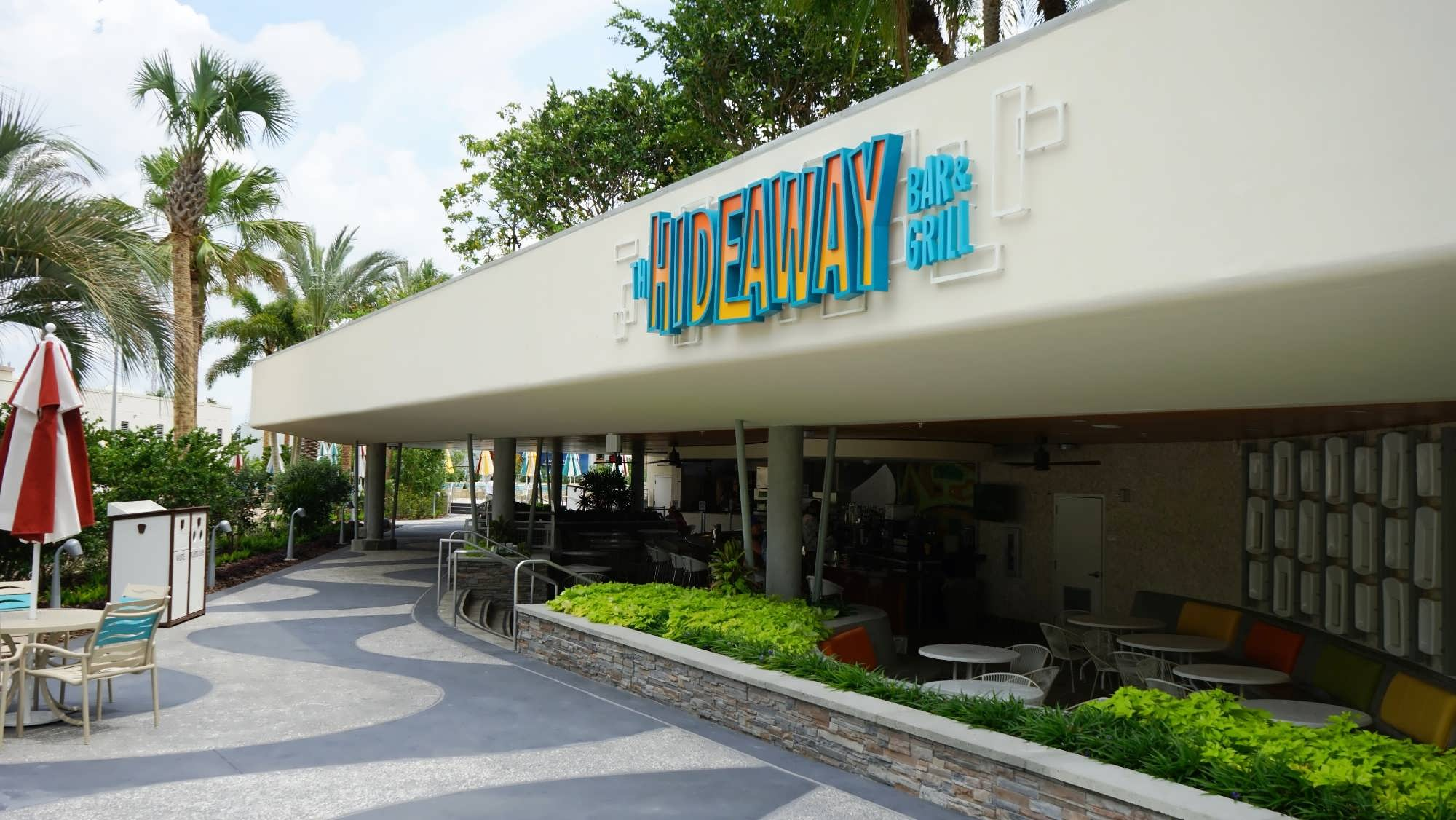 South Courtyard pool area at Cabana Bay Beach Resort