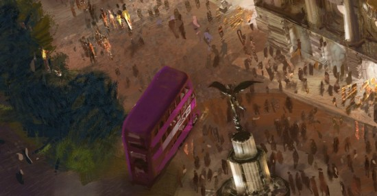 The Wizarding World of Harry Potter - Diagon Alley Knight Bus.