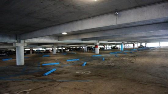 Universal Orlando's parking garage.