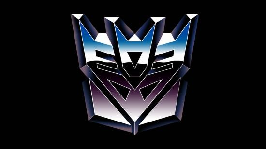 Decepticon logo from G1.