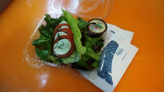 Lisa's Teahouse of Horror: Caprese Salad.
