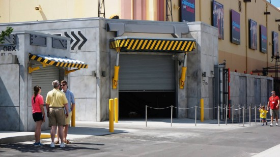 Transformers indoor meet 'n greet station opening soon.