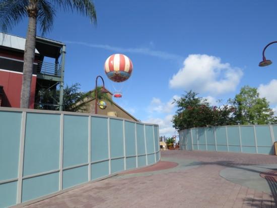 Disney Springs construction - July 2013.