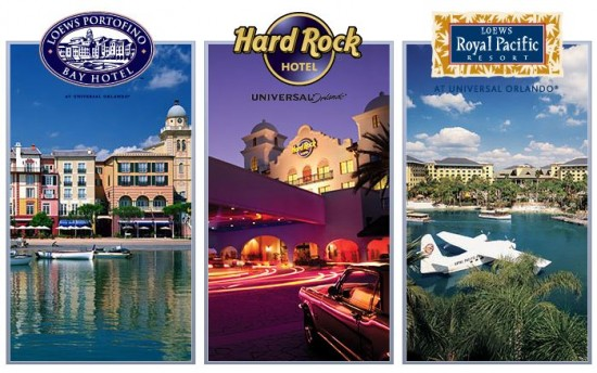 Universal Orlando on-site hotels.
