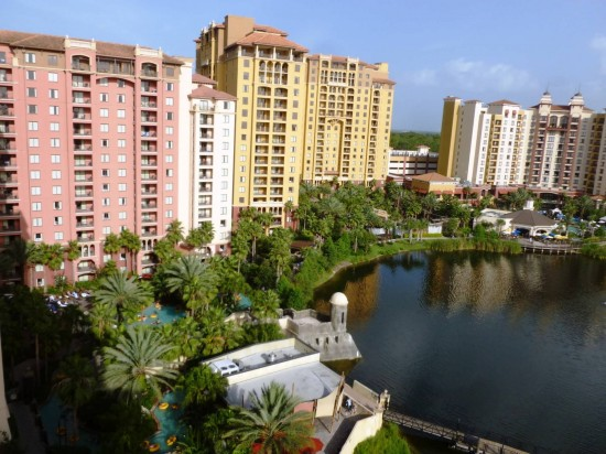 Wyndham Bonnet Creek Resort at Walt Disney World.