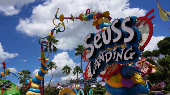 Seuss Landing at Islands of Adventure.