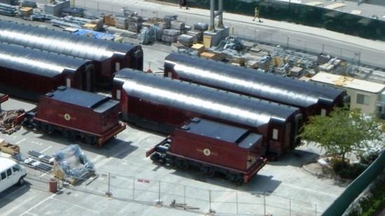 Universal Orlando's Hogwarts Express.