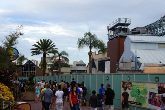 Disney Springs construction.
