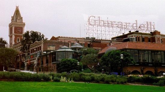 Ghirardelli Square in San Francisco.