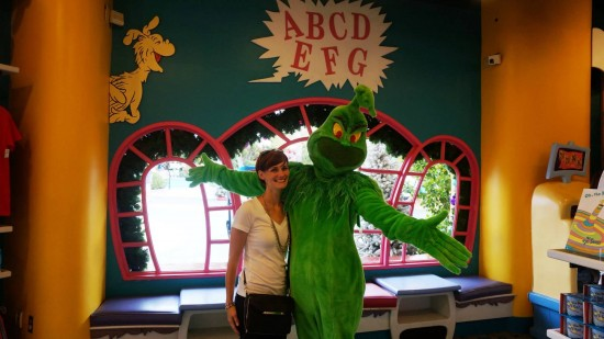 """""""Classic"""" Grinch meet-and-greet character."""