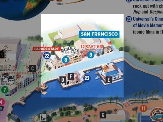 Universal Studios Florida - San Francisco backlot.