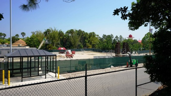Rumored King Kong construction site in Islands of Adventure.