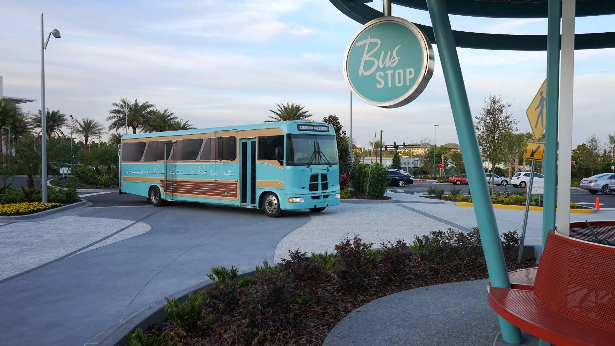 Cabana Bay Beach Resort shuttle