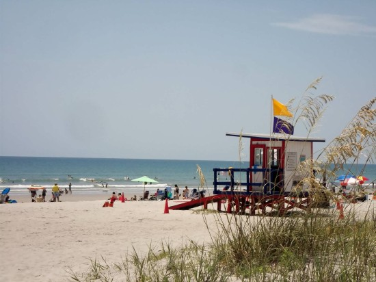 A day trip to Cocoa Beach.
