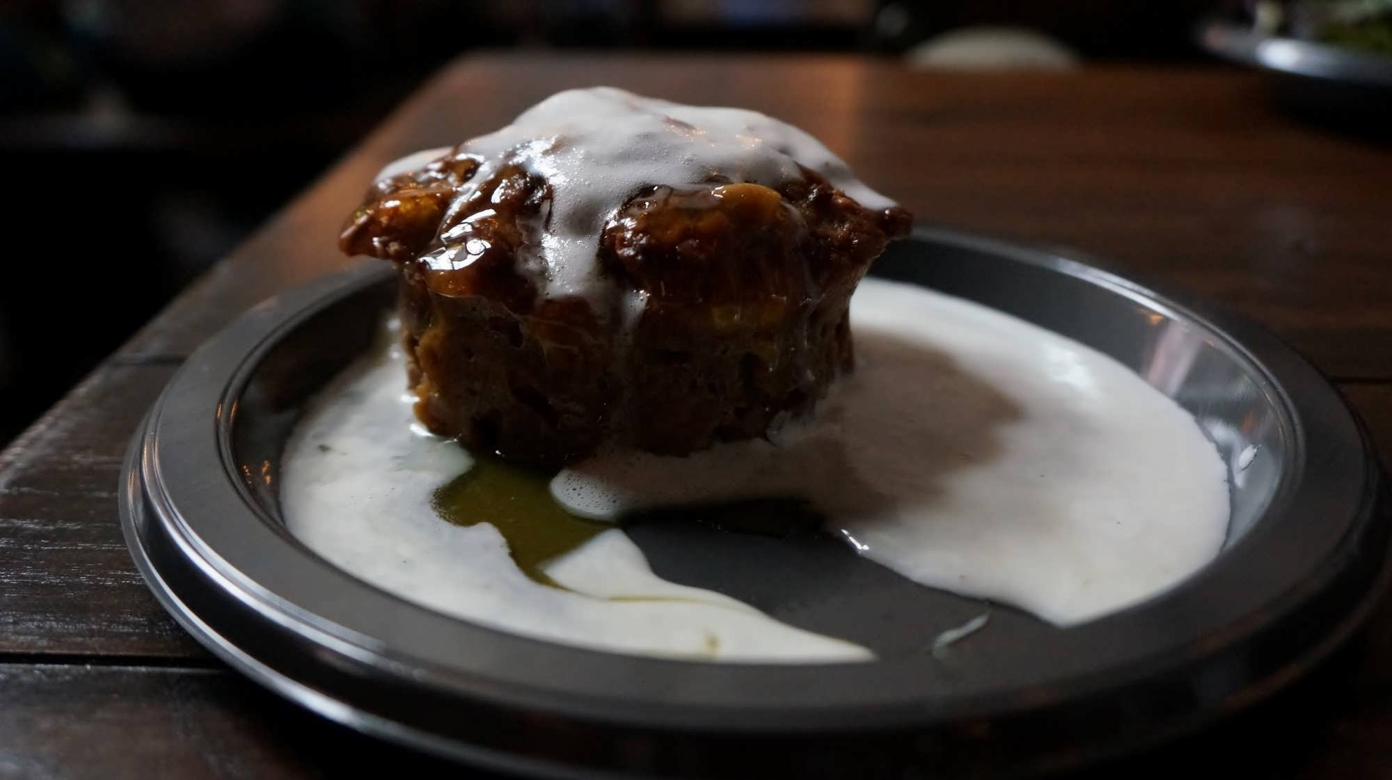 Sticky Toffee Pudding at the Leaky Cauldron
