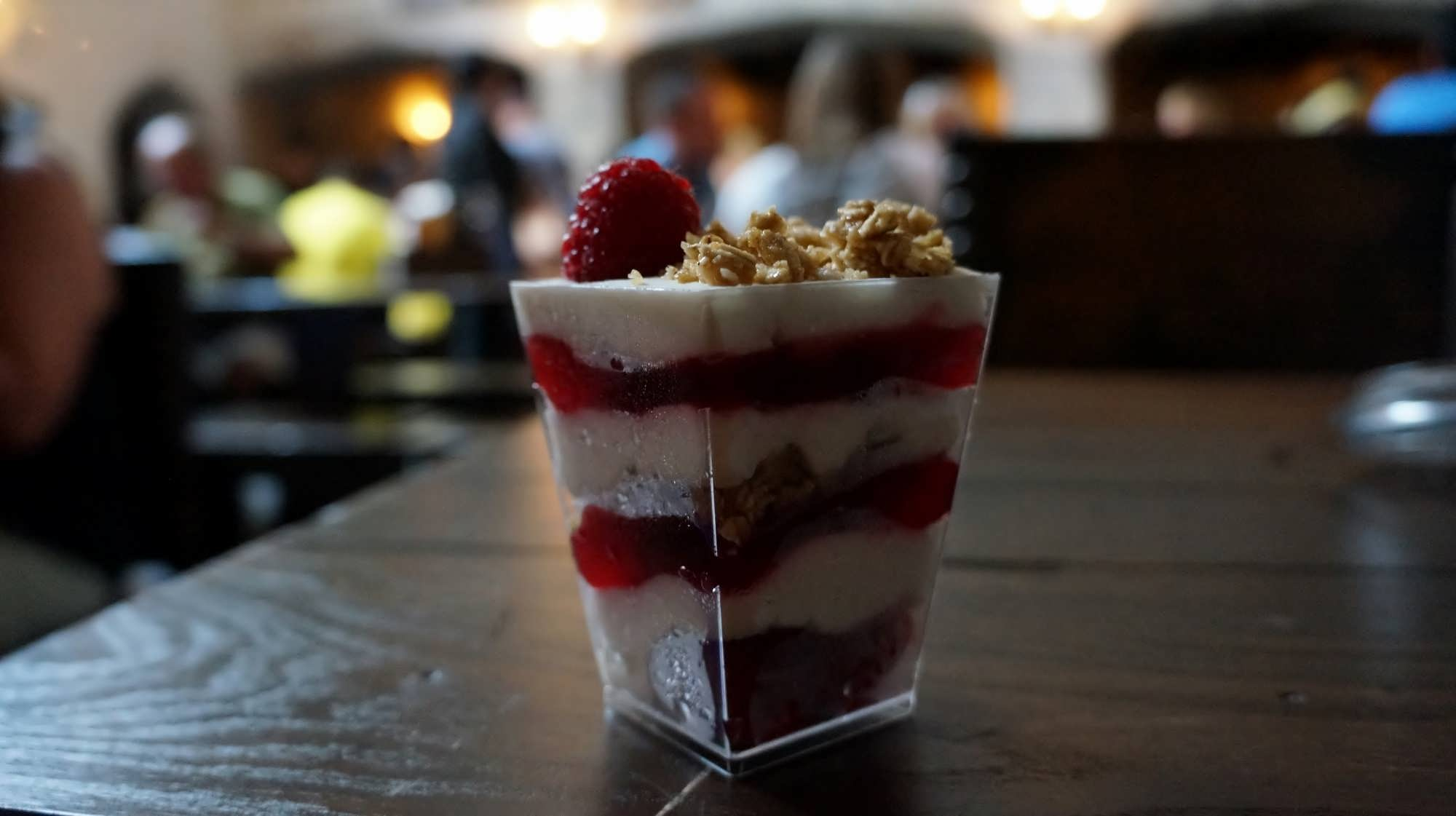 Cranachan at the Leaky Cauldron