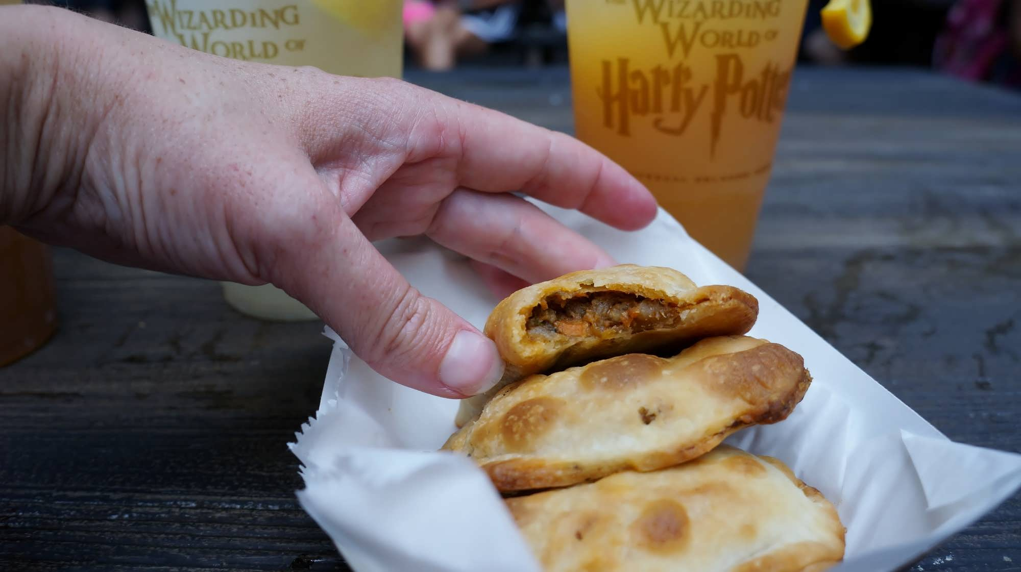 Cornish Pasties at the Hopping Pot