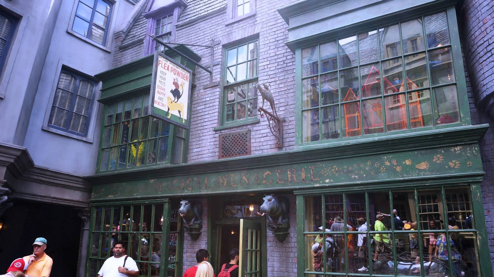 Magical Menagerie at the Wizarding World of Harry Potter - Diagon Alley.
