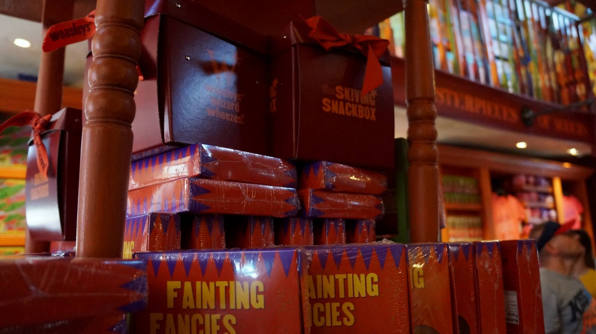 The Skiving Snackbox at Weasleys' Wizard Wheezes