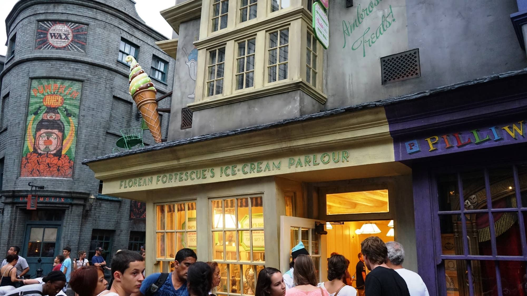 Image result for Florean Fortescue's Ice-Cream Parlour