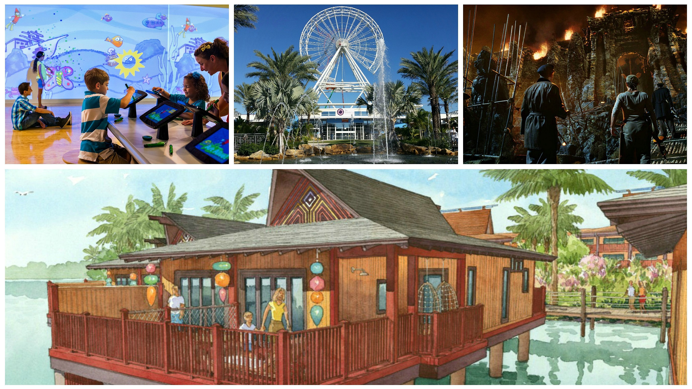 Top 6 attractions and venues coming in 2015