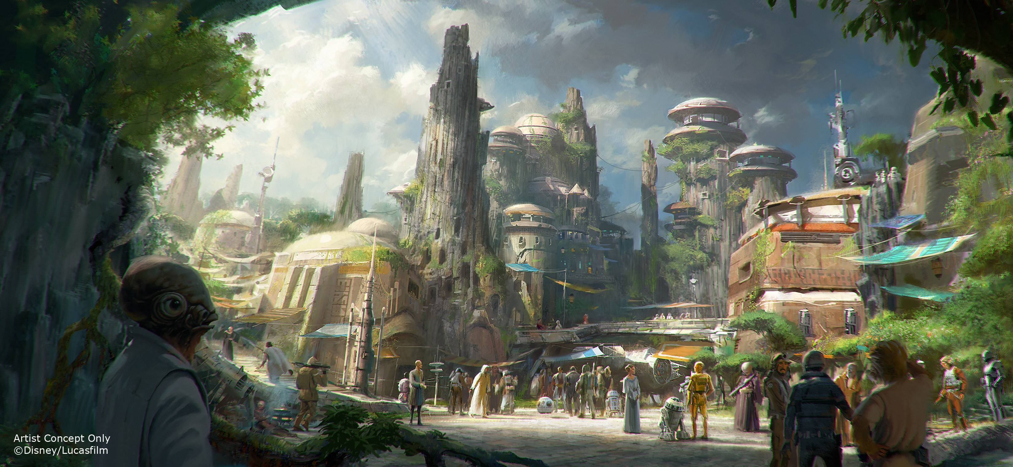 Star Wars Land coming to Disney World and Disneyland
