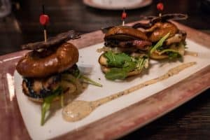 Pork Belly Sliders at Toothsome Chocolate Emporium at Universal Orlando CityWalk