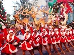 Macy's Holiday Parade 2012 at Universal Studios Florida.