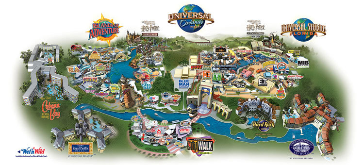 Universal Orlando Map 2015 Universal Orlando Map   CYNDIIMENNA