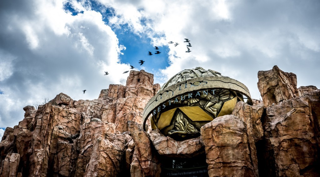 Mythos at Islands of Adventure
