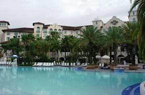 Hard Rock Hotel's pool area.