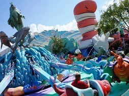 One Fish, Two Fish, Red Fish, Blue Fish at Universal's Islands of Adventure.