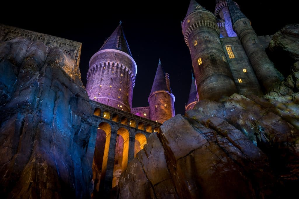 Harry Potter and the Forbidden Journey castle