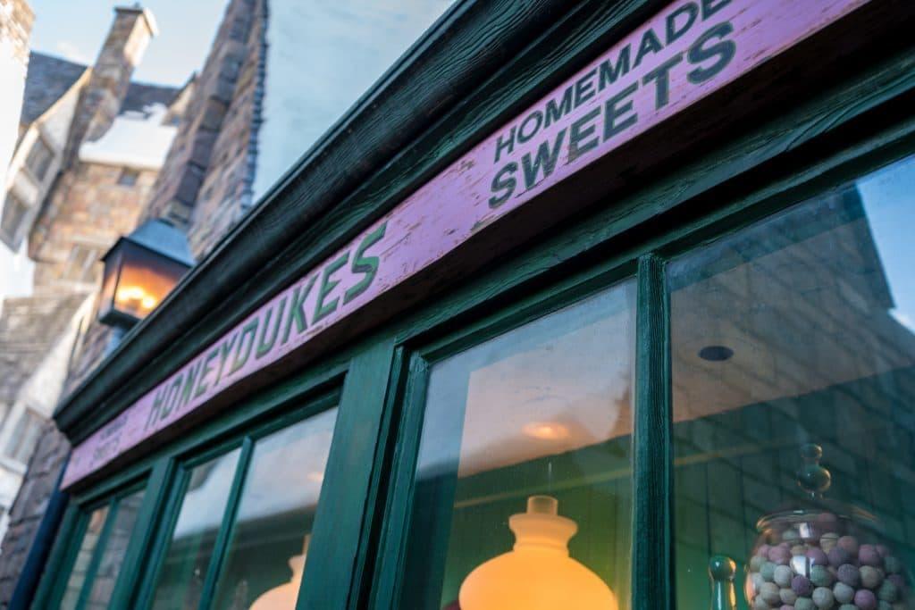 Honeydukes inside The Wizarding World of Harry Potter - Hogsmeade.